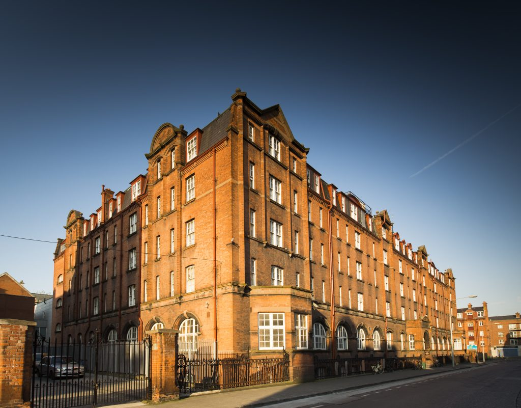 The Iveagh Hostel in the sun