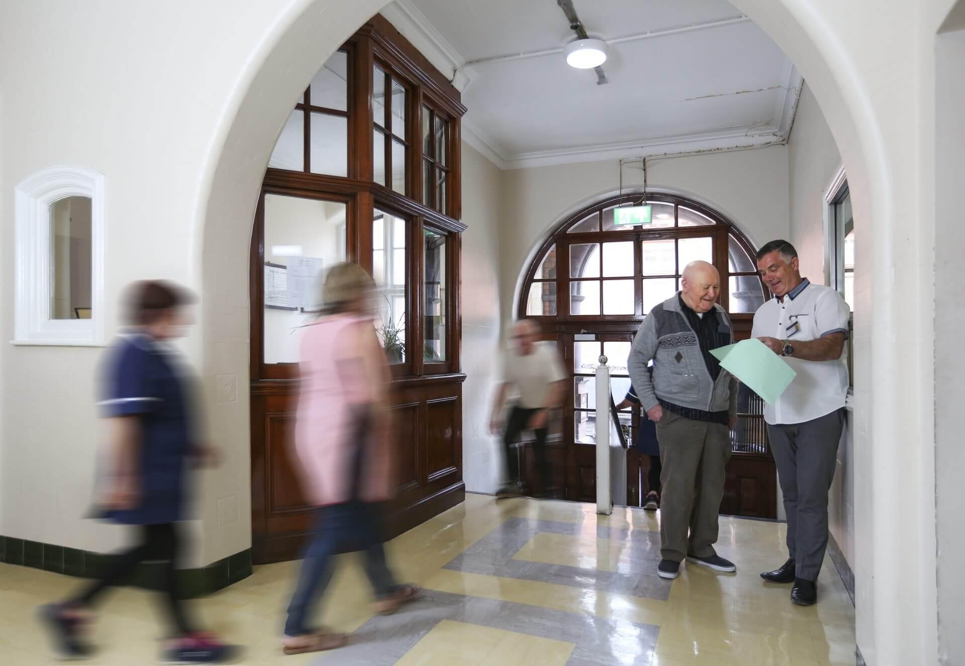 Hostel Foyer